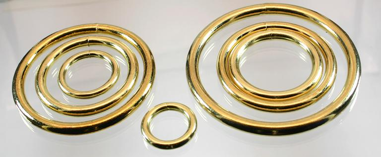 O-rings for leather craft